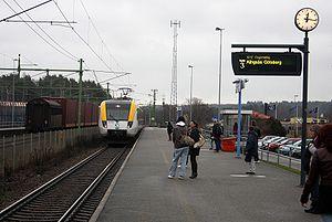 Tåg, regiontåg.